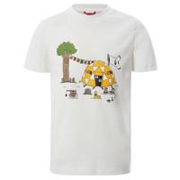 Oblačila Dečki Majice s kratkimi rokavi The North Face GRAPHIC TEE Bela