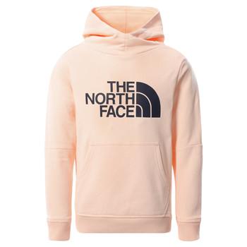 Oblačila Deklice Puloverji The North Face DREW PEAK HOODIE 2.0 Rožnata
