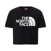 Oblačila Deklice Majice s kratkimi rokavi The North Face EASY CROPPED TEE Črna