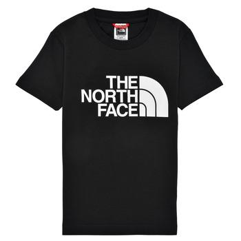 Oblačila Dečki Majice s kratkimi rokavi The North Face EASY TEE Črna