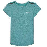 Oblačila Deklice Majice s kratkimi rokavi Columbia TECH TREK Zelena