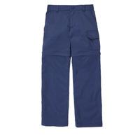 Oblačila Deklice Hlače s 5 žepi Columbia SILVER RIDGE IV CONVTIBLE PANT Modra
