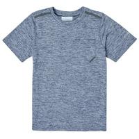 Oblačila Dečki Majice s kratkimi rokavi Columbia TECH TREK Modra