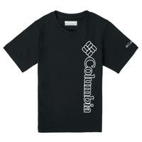 Oblačila Dečki Majice s kratkimi rokavi Columbia HAPPY HILLS GRAPHIC Črna