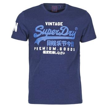 Oblačila Moški Majice s kratkimi rokavi Superdry VL NS TEE Modra