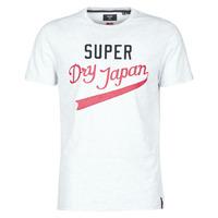 Oblačila Moški Majice s kratkimi rokavi Superdry COLLEGIATE GRAPHIC TEE 185 Siva