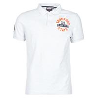 Oblačila Moški Majice s kratkimi rokavi Superdry CLASSIC SUPERSTATE S/S POLO Siva