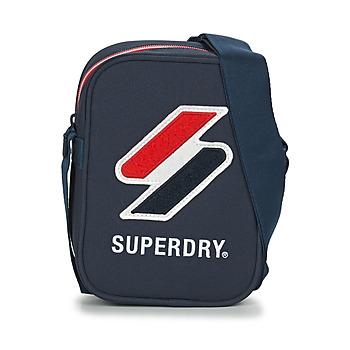 Torbice Torbice Superdry SPORTSTYLE SIDE BAG Modra