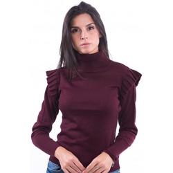 Oblačila Ženske Puloverji Fracomina F120W04014K03901 Bordeaux