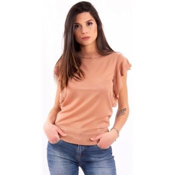 Oblačila Ženske Majice s kratkimi rokavi Fracomina FR20SM806 Brezbarven