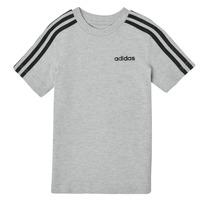 Oblačila Dečki Majice s kratkimi rokavi adidas Performance YB E 3S TEE Siva