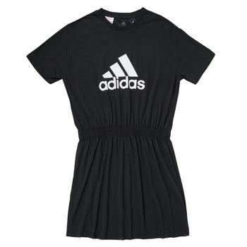 Oblačila Deklice Kratke obleke adidas Performance G DANCE DRESS Črna