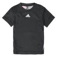 Oblačila Dečki Majice s kratkimi rokavi adidas Performance B A.R. TEE Črna
