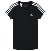 Oblačila Deklice Majice s kratkimi rokavi adidas Performance G 3S T Črna