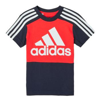 Oblačila Dečki Majice s kratkimi rokavi adidas Performance B CB T Rdeča
