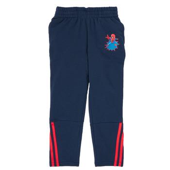 Oblačila Dečki Spodnji deli trenirke  adidas Performance LB DY SHA PANT Modra