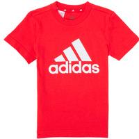 Oblačila Dečki Majice s kratkimi rokavi adidas Performance B BL T Rdeča