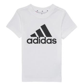 Oblačila Dečki Majice s kratkimi rokavi adidas Performance B BL T Bela