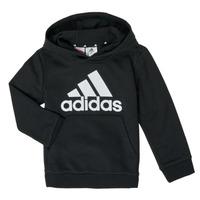 Oblačila Dečki Puloverji adidas Performance B BL HD Črna