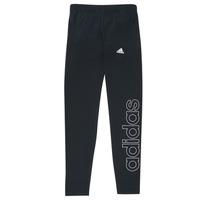 Oblačila Deklice Pajkice adidas Performance G LIN LEG Črna