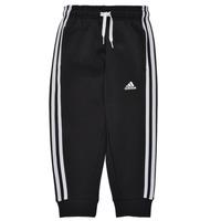 Oblačila Dečki Spodnji deli trenirke  adidas Performance B 3S FL C PT Črna