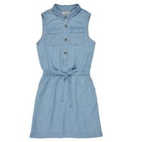 Oblačila Deklice Kratke obleke Deeluxe LALI Modra