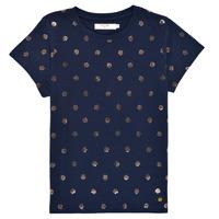 Oblačila Deklice Majice s kratkimi rokavi Deeluxe MAYA Modra