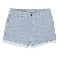Oblačila Deklice Kratke hlače & Bermuda Deeluxe BILLIE Bela / Modra