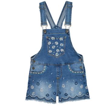 Oblačila Deklice Kombinezoni Desigual 21SGDD04-5053 Modra