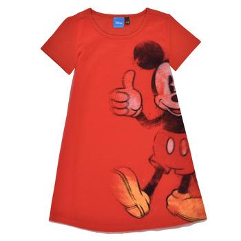 Oblačila Deklice Kratke obleke Desigual 21SGVK41-3036 Rdeča