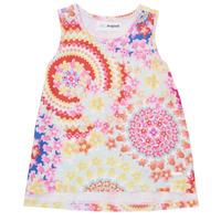 Oblačila Deklice Majice brez rokavov Desigual 21SGCW02-3146 Večbarvna