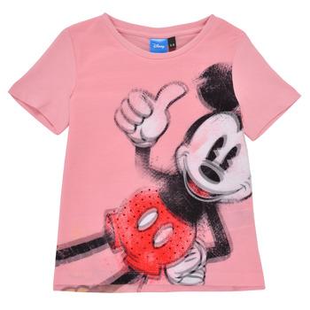 Oblačila Deklice Majice s kratkimi rokavi Desigual 21SGTK43-3013 Rožnata