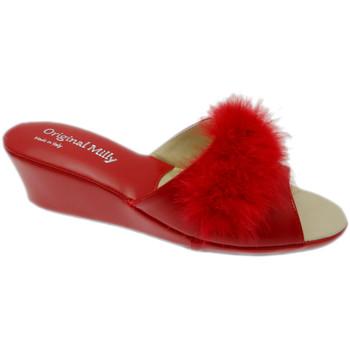 Čevlji  Ženske Natikači Milly MILLY102ros rosso