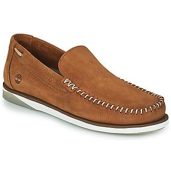Čevlji  Moški Mokasini & Jadralni čevlji Timberland ATLANTIS BREAK VENETIAN Cognac