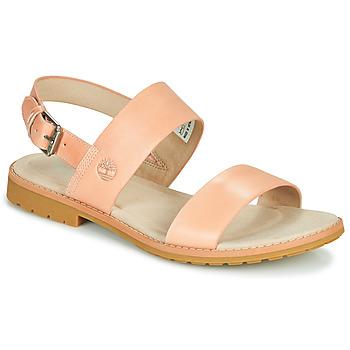 Čevlji  Ženske Sandali & Odprti čevlji Timberland CHICAGO RIVERSIDE 2 BAND Rožnata