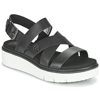 Čevlji  Ženske Sandali & Odprti čevlji Timberland SAFARI DAWN FRONT STRAP Črna