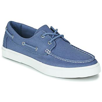 Čevlji  Moški Mokasini & Jadralni čevlji Timberland UNIONWHARF2.0EK+ 2EYEBOAT Modra