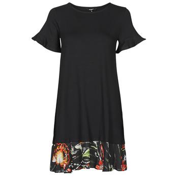 Oblačila Ženske Kratke obleke Desigual KALI Črna
