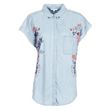 Oblačila Ženske Srajce & Bluze Desigual SULLIVAN Modra