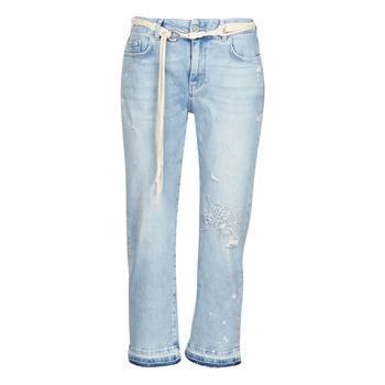 Oblačila Ženske Jeans 3/4 & 7/8 Desigual PONDIO Modra