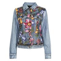 Oblačila Ženske Jeans jakne Desigual BALT Modra