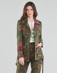 Oblačila Ženske Jakne & Blazerji Desigual CAMOASIS Kaki