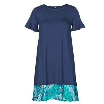 Oblačila Ženske Kratke obleke Desigual KALI Modra