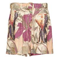 Oblačila Ženske Kratke hlače & Bermuda Desigual ETNICAN Večbarvna