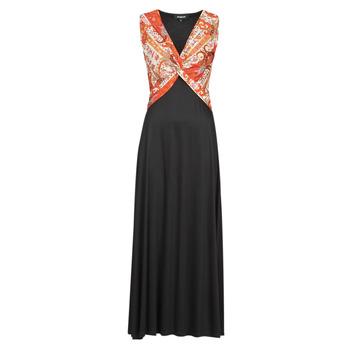 Oblačila Ženske Dolge obleke Desigual YAKARTA Črna