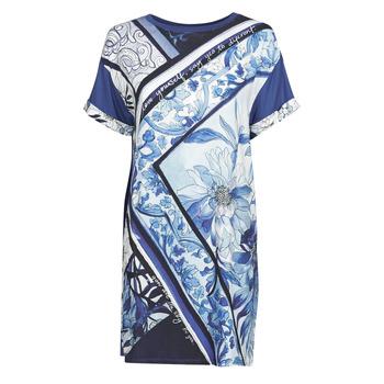 Oblačila Ženske Kratke obleke Desigual SOLIMAR Modra