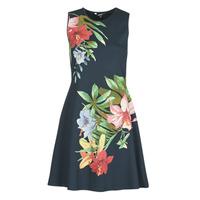 Oblačila Ženske Kratke obleke Desigual KILKENY Večbarvna