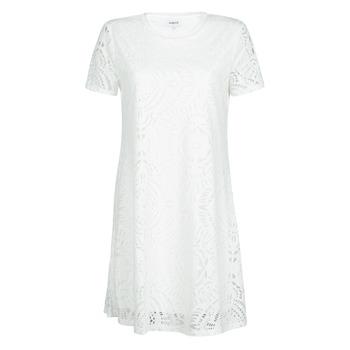 Oblačila Ženske Kratke obleke Desigual NILO Bela