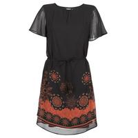 Oblačila Ženske Kratke obleke Desigual TAMPA Črna