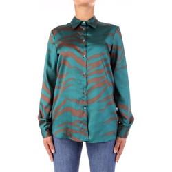 Oblačila Ženske Srajce & Bluze Vicolo TW0796 Verde/marrone